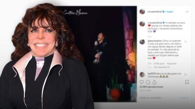Verónica Castro le dijo adiós a su carrera pero sigue pendiente de su público en las redes sociales