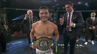 Gustavo López se corona Campeón Mundial de Peso Gallo en Combate Americas