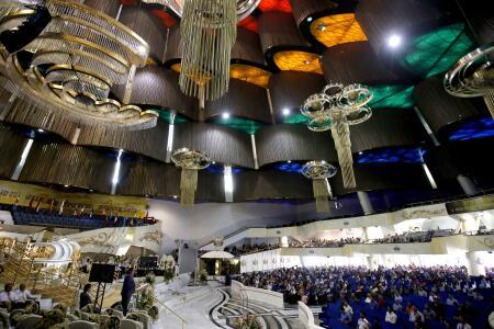 Bajo el iluminado templo de La Luz del Mundo funciona una red de túneles secretos