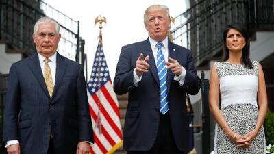 """Trump: """"Tenemos muchas opciones para Venezuela, incluyendo la opción militar, si fuese necesaria"""""""