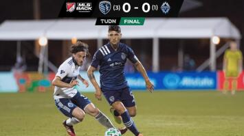¡Puligol a Cuartos en la MLS is Back! Resumen del Sporting Kansas City vs Vancouver Whitecaps