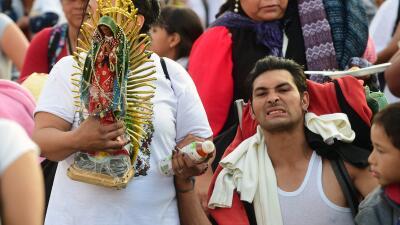 En fotos: Millones de peregrinos visitan a la Virgen de Guadalupe en la Basílica del Tepeyac