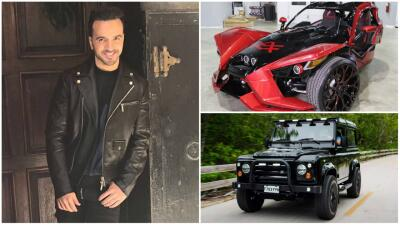 El garaje millonario de Luis Fonsi crece con estos dos carros