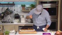 La receta: barriguitas de vieja y un arroz con vegetales y coco