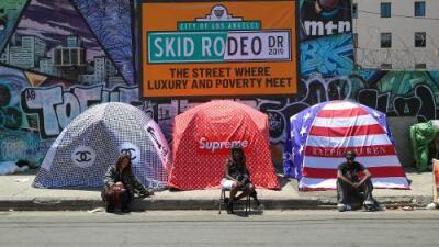 Un proyecto de ley en Los Ángeles pretende limitar accesos a los desamparados en toda la ciudad
