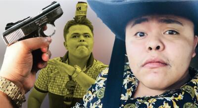 En fotos: así se hizo famoso 'El Pirata de Culiacán', el youtuber asesinado a balazos en México
