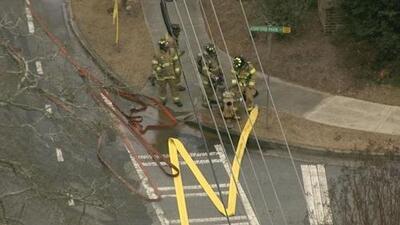 Fuga de gas provoca evacuación en el área de Atlanta