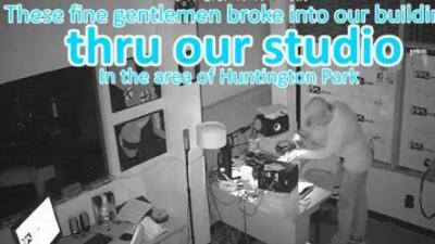 El video que elaboró un productor de radio para denunciar a los que robaron su estudio