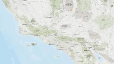 Un fuerte sismo de magnitud 6.4 sacude al sur de California