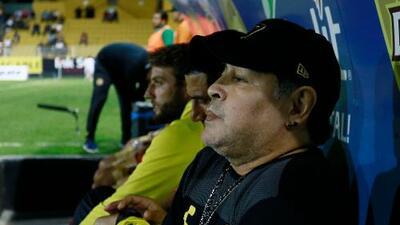 Así le pegó Juanpi Añor, refuerzo venezolano del Huesca, a Maradona por apoyar a Maduro
