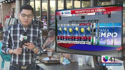 Inicio de semana con temperaturas agradables en San Antonio
