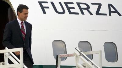 Los lujos de Peña Nieto y su comitiva a bordo del avión presidencial durante sus viajes a EEUU