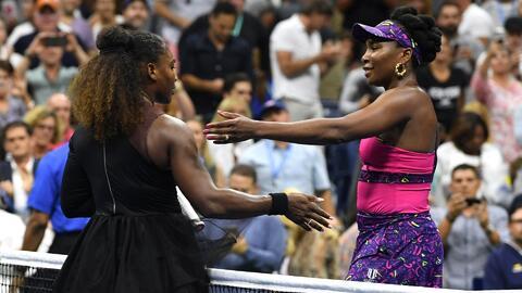 Este es el historial de enfrentamientos entre las hermanas Williams en Grand Slams
