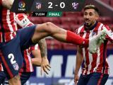 Héctor Herrera participa en triunfo del Atlético que es líder