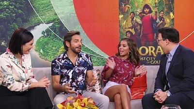 Eugenio Derbez e Isabela Moner prometen acción y escenas muy reales en la cinta 'Dora and the Lost City of Gold'