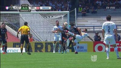 Qué gol de Mendoza que empata el juego