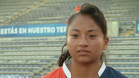 Miriam Castro, los latidos del fútbol que provienen de su padre