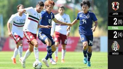 ¡Se escapó el boleto a la Final! México no pudo con Japón y perdió en Semifinales del Maurice Revello