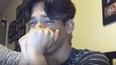 El video de este estudiante al saber que había sido aceptado por reputadas universidades se volvió viral. Hablamos con él