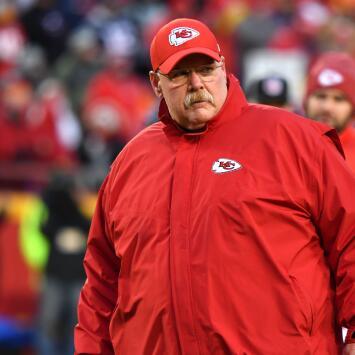 Andy Reid espera dejar de lado su pasado perdedor con los Chiefs