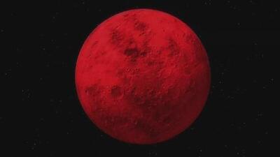 ¿Qué es y cómo ocurre el fenómeno llamado Luna de Sangre?