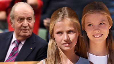 """Tras una """"gran cirugía"""", nietas del rey Juan Carlos no han ido a visitarlo y esta es la razón"""