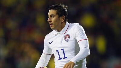 Jugador de la selección de EEUU, Alejandro Bedoya, sigue de cerca el proceso de paz en Colombia
