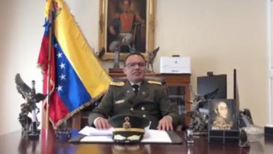 """""""Me apego a la hoja de ruta del presidente encargado Juan Guaidó"""": agregado militar de la Embajada de Venezuela en Washington"""