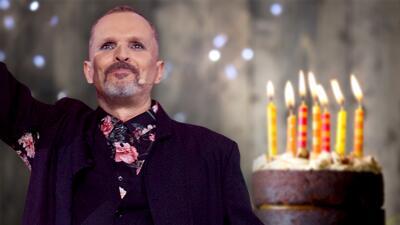 Miguel Bosé llega a los 63 años como jurado de Pequeños Gigantes (y sin comer pastel 😮)
