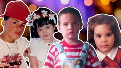 Irreconocibles y adorables: las fotos de 17 niños que ahora son las grandes estrellas de la música