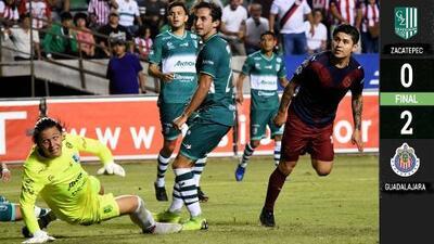 Chivas visita el 'Coruco' Díaz y consigue victoria ante Zacatepec en duelo amistoso