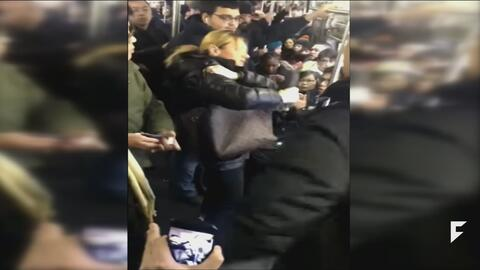 Man who defended woman from racial attack on subway hailed a hero
