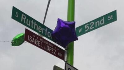 Nombran una calle de Chicago en honor a la pequeña Isabel López tras 2 años de su muerte a causa del cáncer