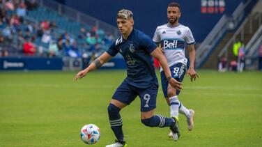 Alan Pulido, elegido al XI ideal de la Semana 5 en MLS