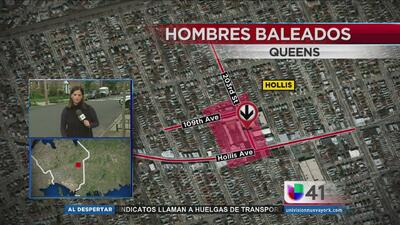 Investigan tiroteo que dejó a tres hombres heridos en Queens
