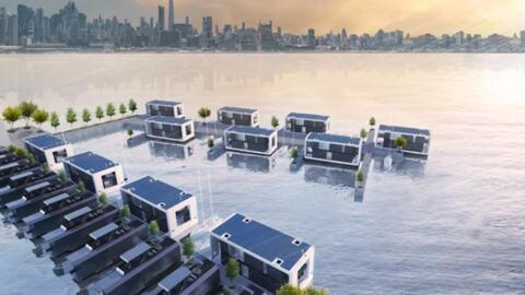 ¿Te gustaría vivir en medio del mar (literal)?: la casa de tus sueños ya existe y cuesta 4 millones de dólares