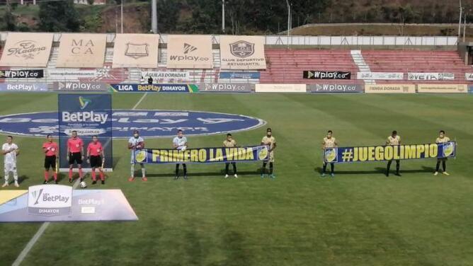 Equipo se presenta a jugar con solo 7 futbolistas en Primera División de Colombia