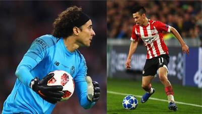Las posibilidades de Guillermo Ochoa e Hirving Lozano en Champions