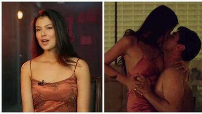 Laura Osma confesó que le fue muy difícil hacer una escena íntima con 'El Chapo'