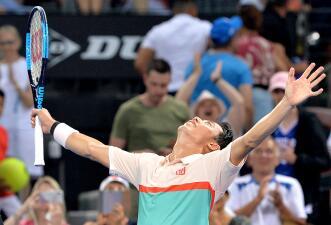 Kei Nishikori y Karolina Pliskova, los primeros reyes del tenis en el arranque de 2019