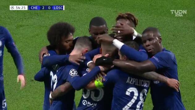 Azpilicueta puso el segundo del Chelsea en Lille