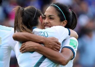 En fotos: Argentina se lleva un empate con sabor a gloria contra Japón en Mundial Femenino