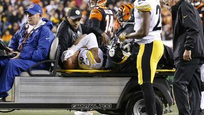 Ryan Shazier sufre dura lesión y abandona el campo sin movilidad en las piernas