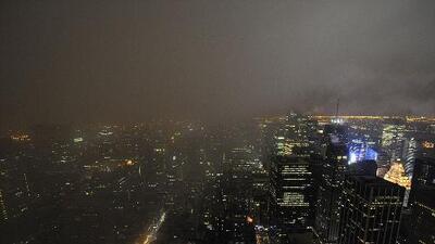 Alerta de inundaciones por las fuertes lluvias en Nueva York y Nueva Jersey