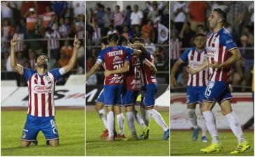 En fotos: Con gol de Oribe, Guadalajara vence a Correcaminos 2-0