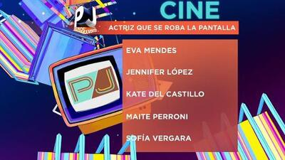Nominados en la categoría Cine