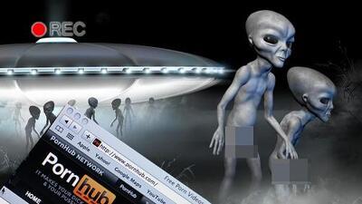 Sexo con marcianos: PornHub asegura que es la nueva moda