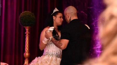 Nicky Jam baila con su hija en sus XV años