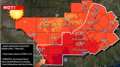 Se esperan temperaturas altas peligrosas para hoy