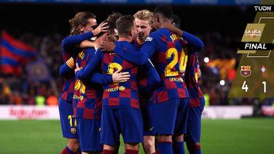 ¡Increíble Messi! Con hat-trick suyo el Barça vence al Celta